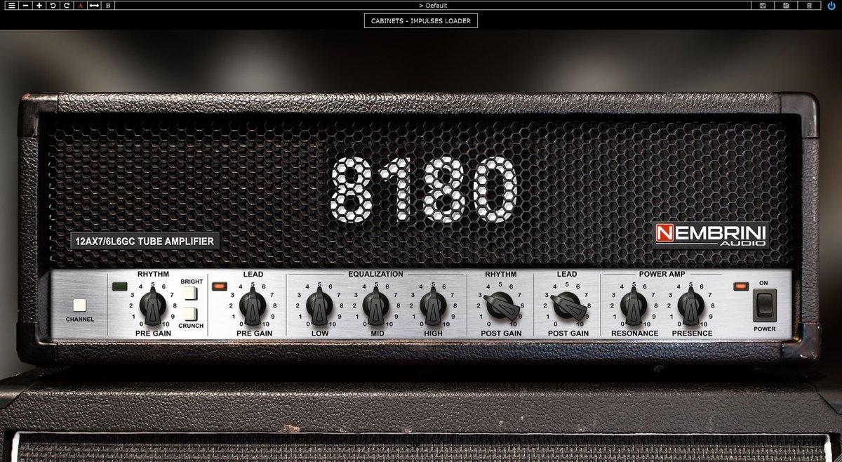 [Gitarre / Modelling / VST] Nembrini 8180 Monster Tube Guitar Amp VST Plugin Einführungsaktion