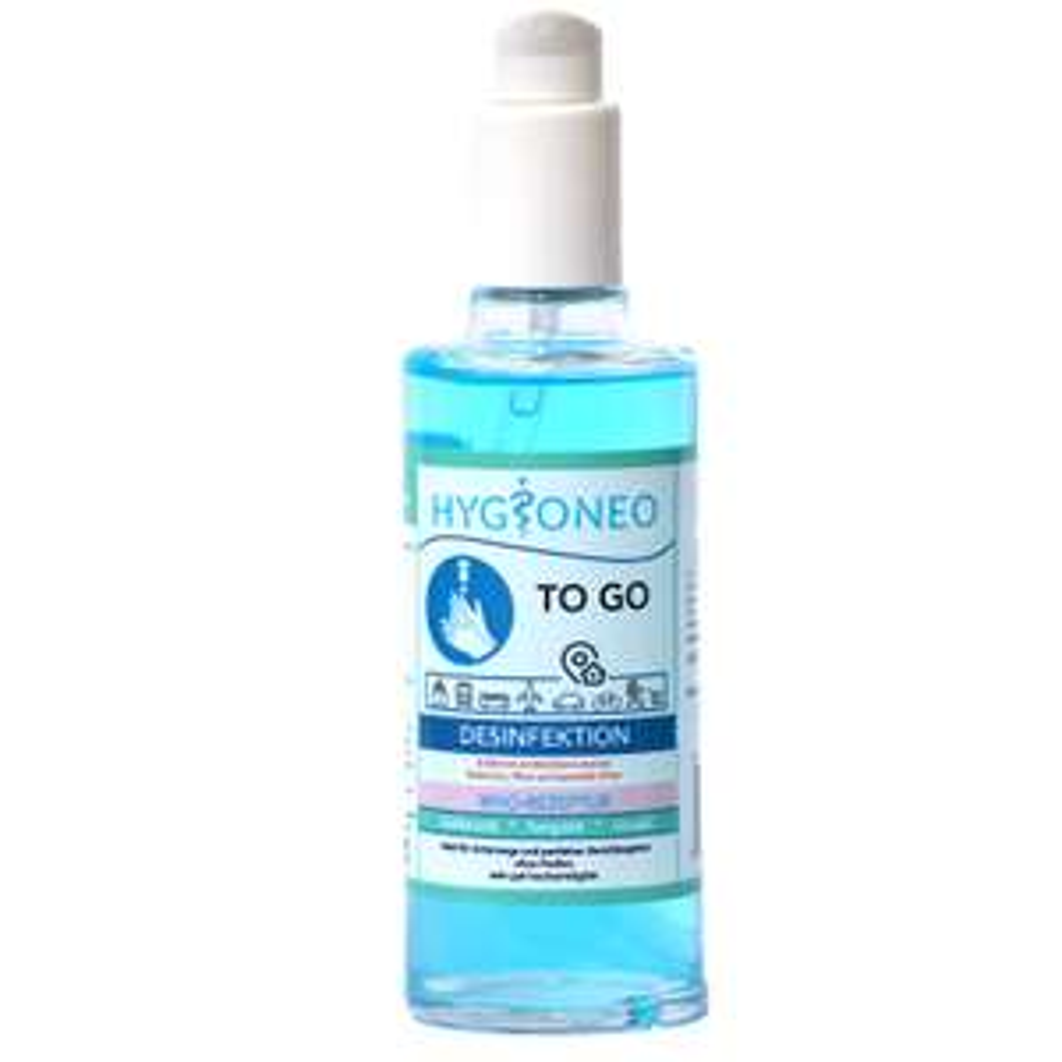 Desinfektionsmittel 50ml / 100ml / Set mit Handschuhen/Masken - 25% Gutschein