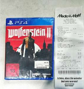 Wolfenstein II The new colossus *PS4 (Lokal MM Köln Marsdorf)