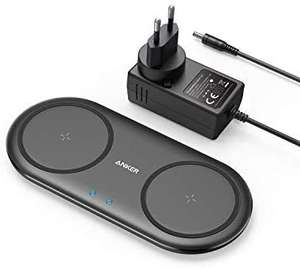 [Amazon] Anker Wireless Charger PowerWave 10 Dual