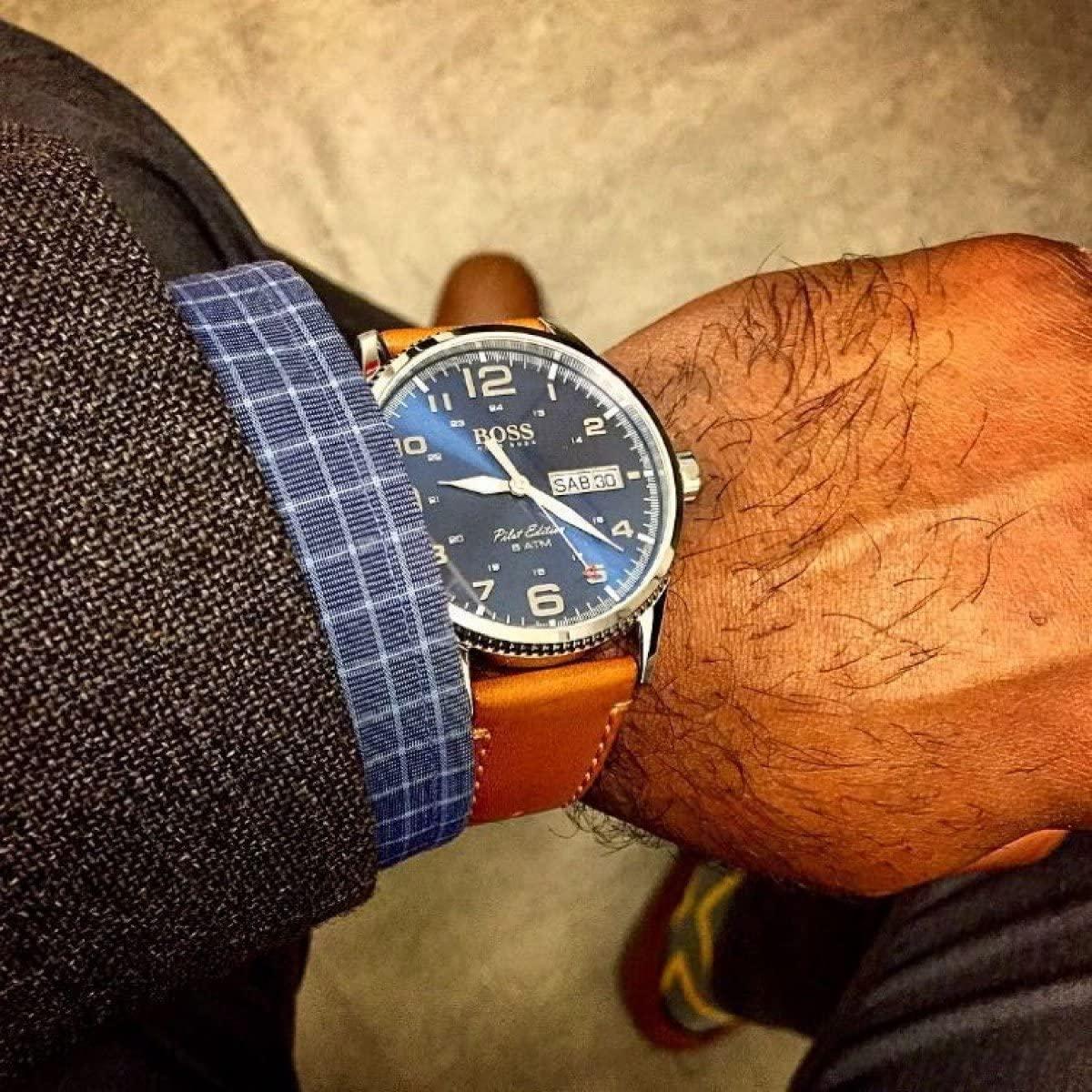 Hugo Boss Herren-Armbanduhr Pilot