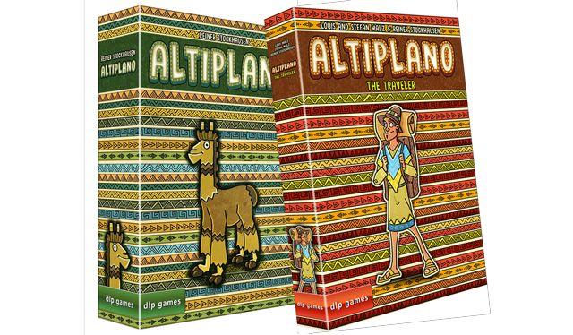 Altiplano + Erw. Der Reisende + Sonnige Tage (Brettspiel, Gesellschaftsspiel, BGG 7,1, 2-5 Spieler, 12+)