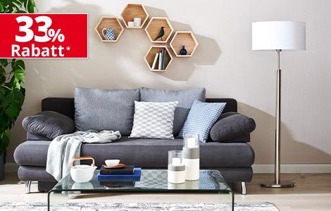 33% Prozent Rabatt bei Möbel Höffner auf fast alles , online und offline