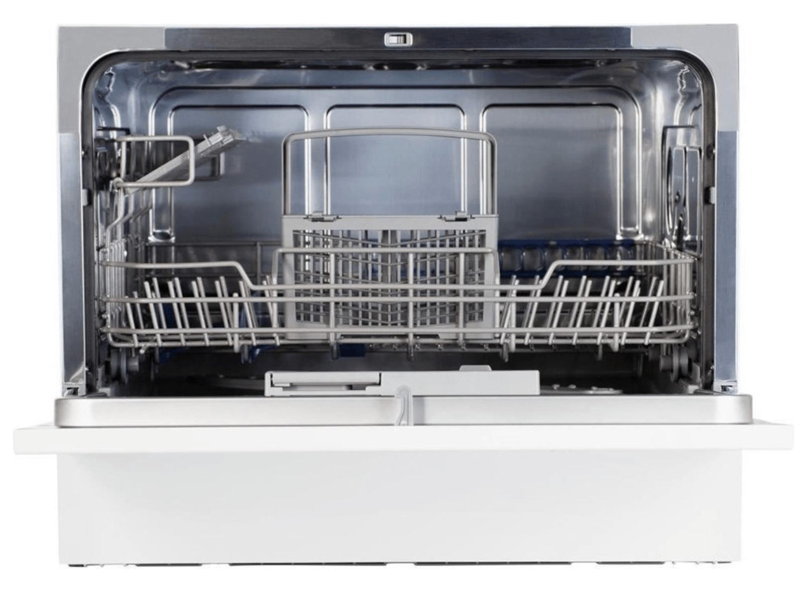MEDION® Tischgeschirrspüler MD 16698 für ( 6 Gedecke, mit 6 Programmen, Geräuschlevel ca. 51 dB, Energieeffizienzklasse A+)