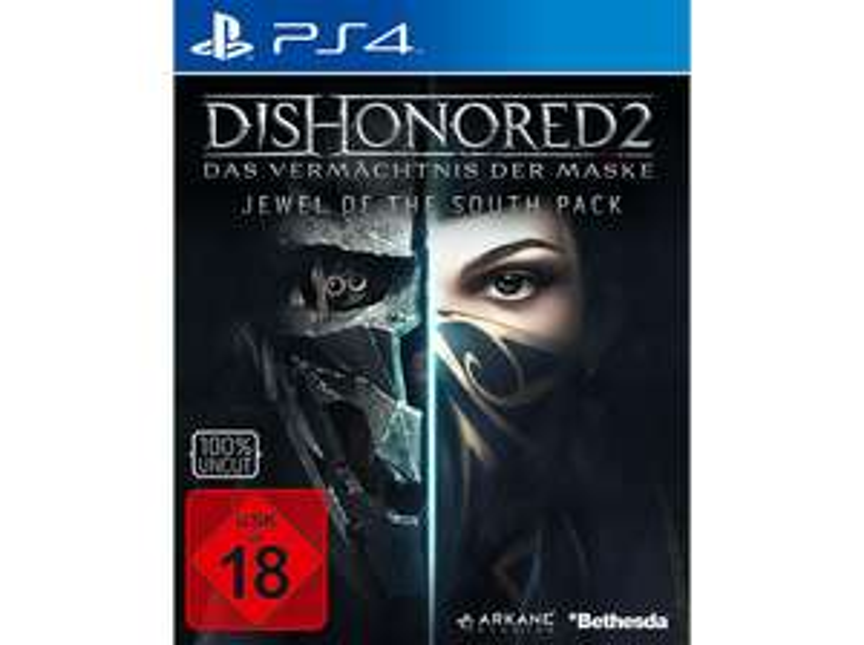 Dishonored 2: Das Vermächtnis der Maske Metal Pack (PS4) für 8€ (Media Markt Abholung)