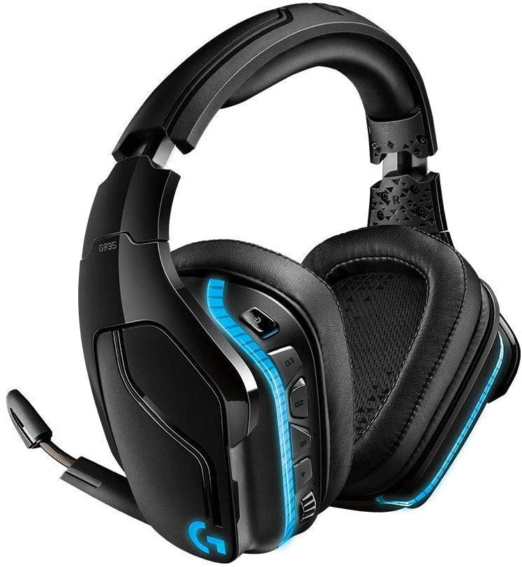 Logitech G935 Wireless RGB Gaming-Headset, 7.1 Surround Sound
