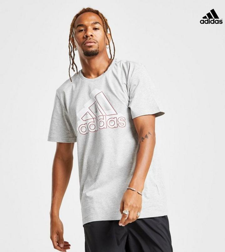 adidas Badge of Sport Glitch Logo T-Shirt Herren (XS-XL) inkl. Versand!