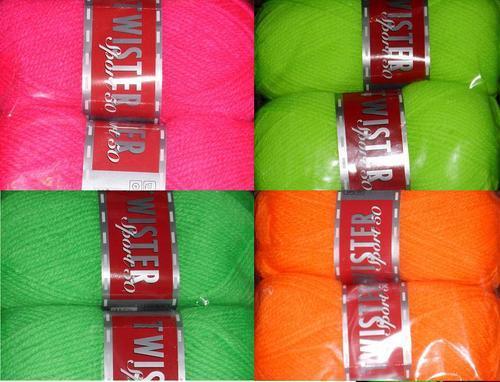 50g Wolle der Marke Twister Sport 50 für nur 1,- EUR + 2 EUR Versand!