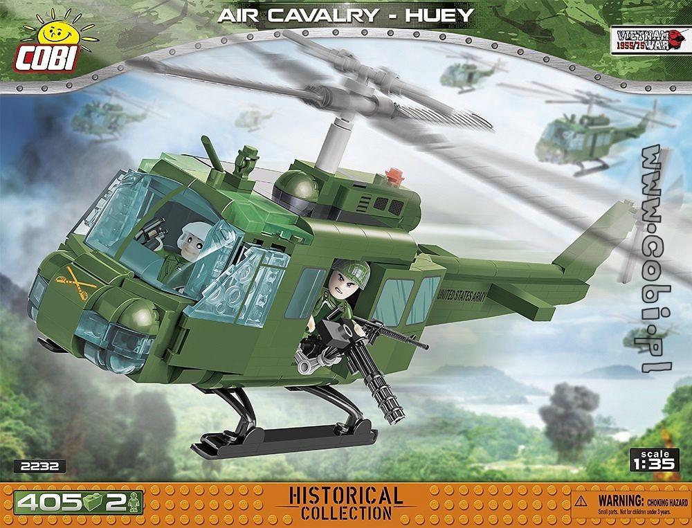 [Klemmbausteine] COBI AIR CAVALRY-HUEY, Helikopter (2232) @ Thalia mit GS