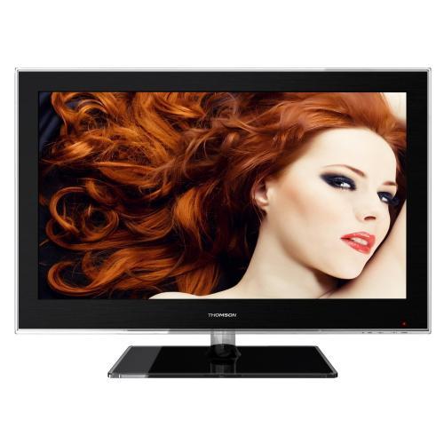 Thomson 22HS4246C 55,9 cm (22 Zoll) LED-Backlight-Fernseher, Energieeffizienzklasse A (HD Ready, DVB-C/-T, 2x HDMI, CI+, USB 2.0, Hotelmodus) schwarz