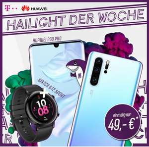 P30 Pro + Watch GT2 + Free Buds 3 (Telekom Magenta S young 12GB LTE/Allnet)