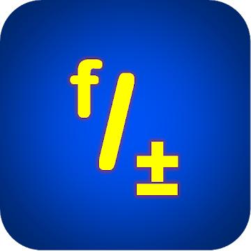 """[Google Playstore] Fraktion Kalkulator """"FRACTAL MK-12"""""""
