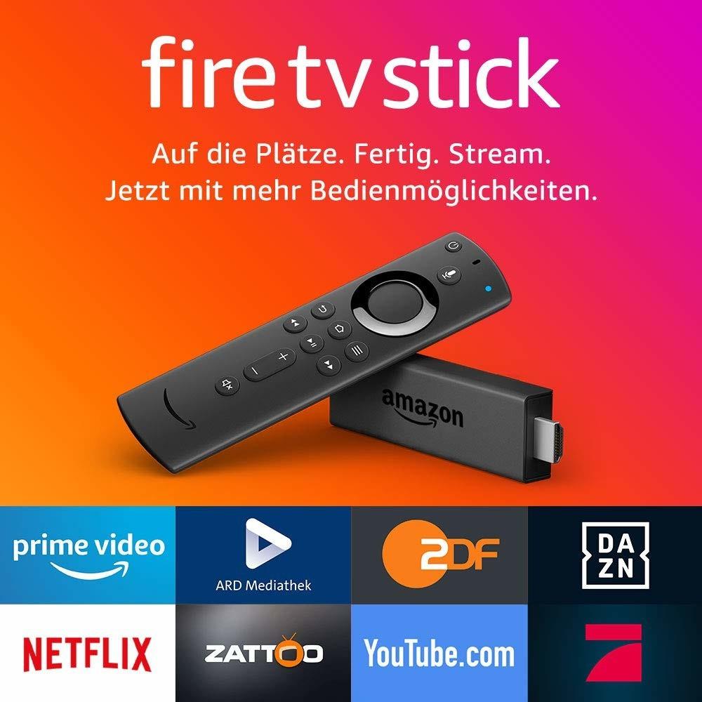 AMAZON Fire TV Stick mit der neuen Alexa-Sprachfernbedienung für 24,99€ mit Abholung bzw. Prime [Amazon / Saturn / MediaMarkt]