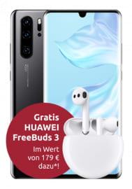 Huawei P30 Pro + FreeBuds 3 im Otelo Allnet-Flat Max (20GB LTE, All- & SMS-Flat, Vodafone-Netz) für 29,99€/Monat und einmalig 4,99€