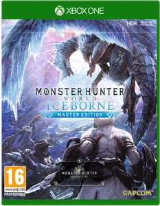 Monster Hunter World: Iceborne Master Edition (Xbox One & PS4) für je 28,85€ (NETGAMES)