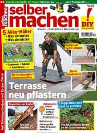 Selbermachen Magazin Abo (12 Ausgaben) für 45,40€ mit 35€ BestChoice-Gutschein/ 40€ Otto/Zalando-Gutschein (Kein Werber nötig)
