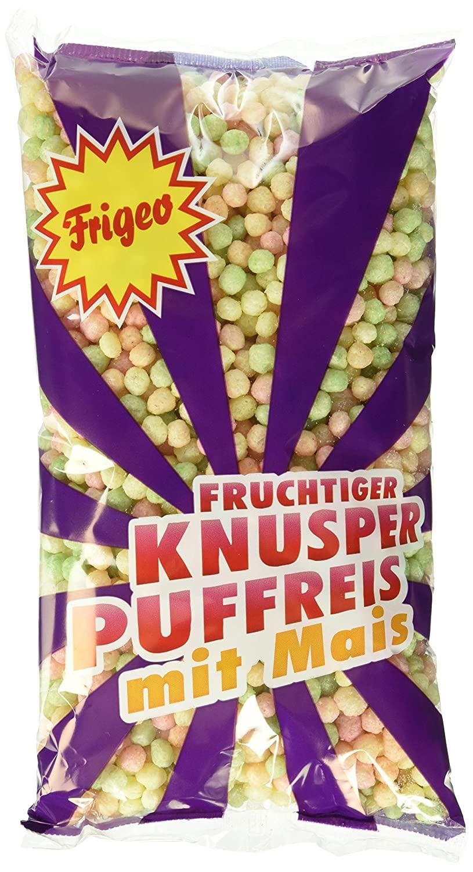 [AmazonPrime] 15x 80g Frigeo Knusper-Puffreis – luftig-fruchtiger Knusper-Spaß