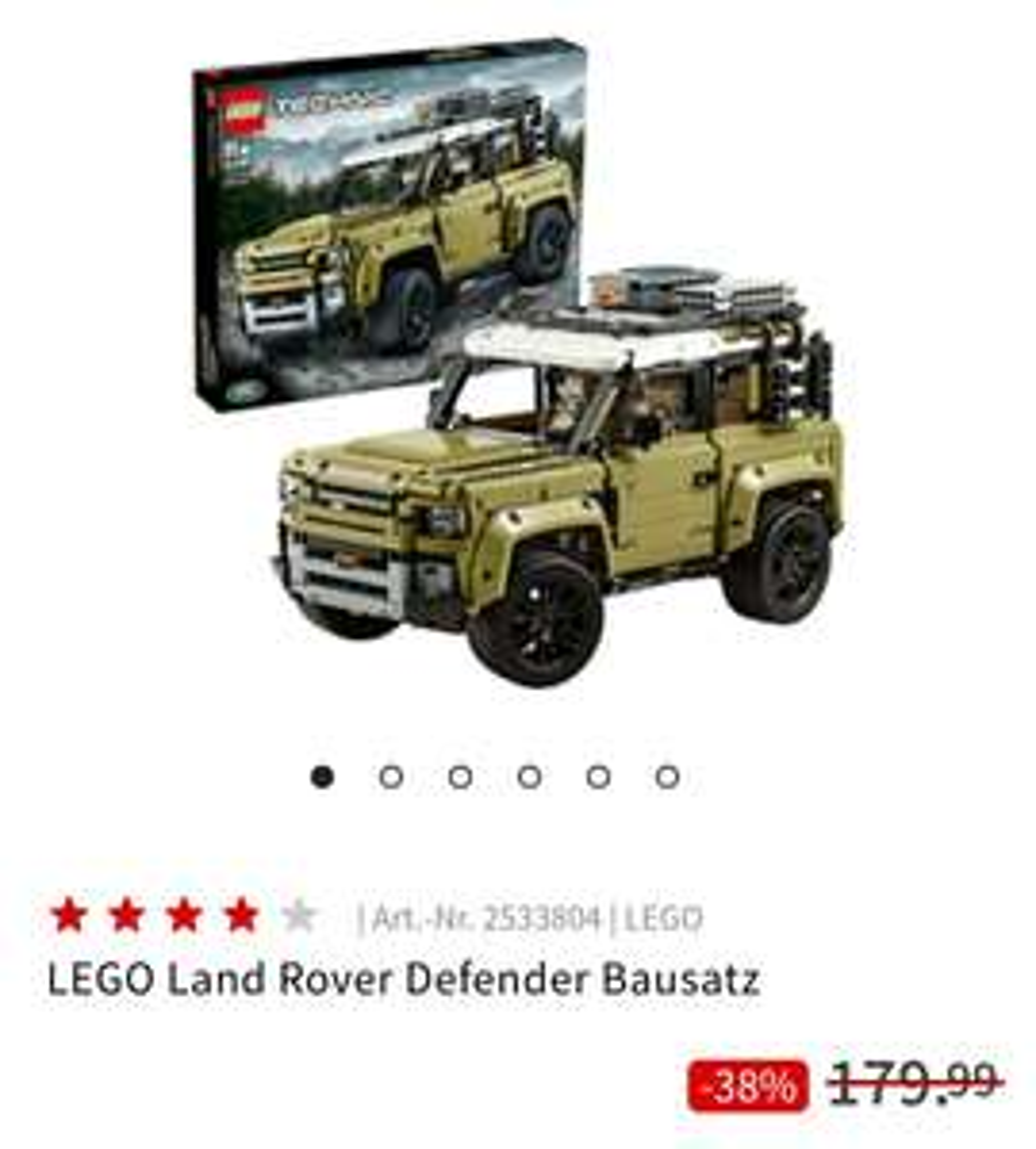 Lego Technic (42110) Land Rover Defender - MediaMarkt