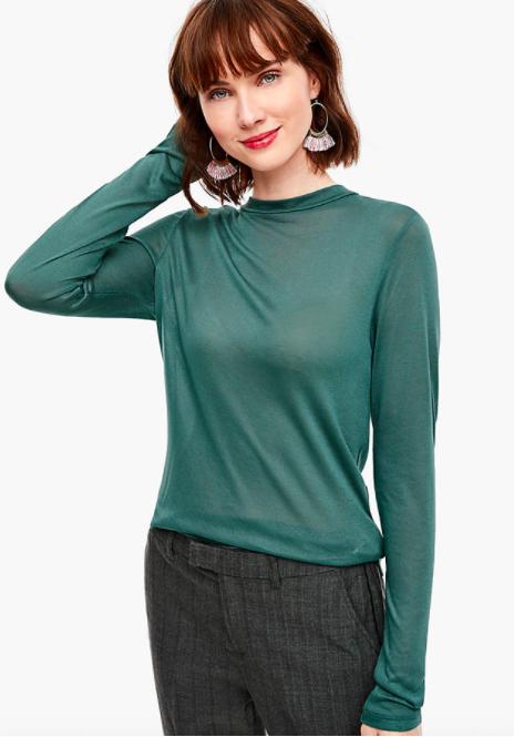 Sale bei S.Oliver z.B. Damen Viskoseshirt für 5,99€, 3/4-Ärmeln Bluse für 12,99€ oder Herren Tapered leg-Hose für 19,99€ +0,99€ Versand