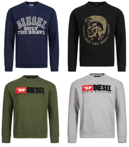 Diesel Sweatshirt - Sale (10 Designs)