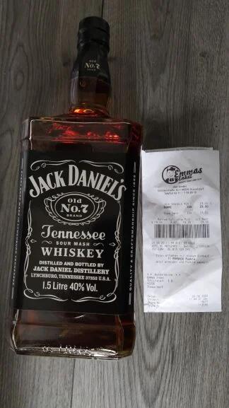[Lokal] Jack Daniel's Tennessee Whiskey 1,5L Emmas Enkel