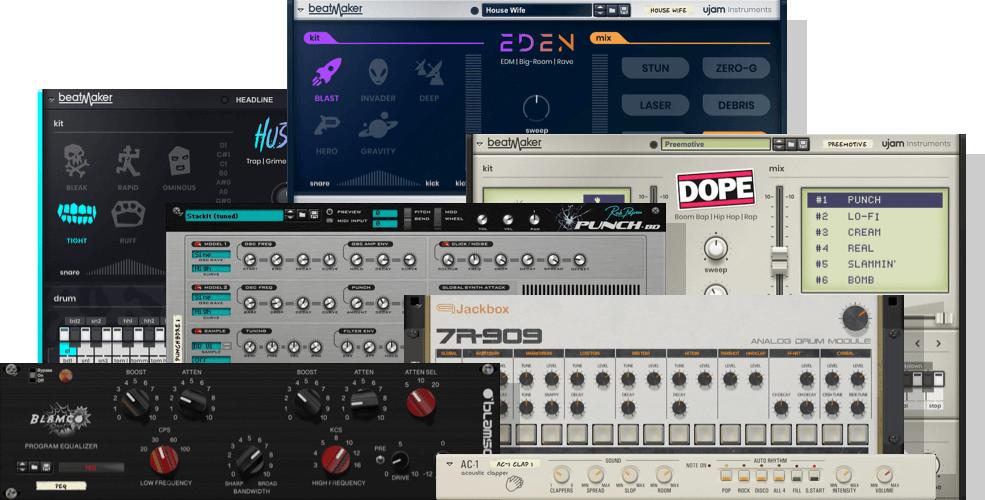 Reason Studios Sale - bis zu 75% Rabatt auf über 300 Rack Extensions für Reason [Musik Apps]