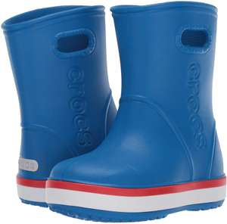 Crocs Unisex-Kinder Crocband Rain Boot K Gummistiefel (Größe 22/23) [Amazon Prime]