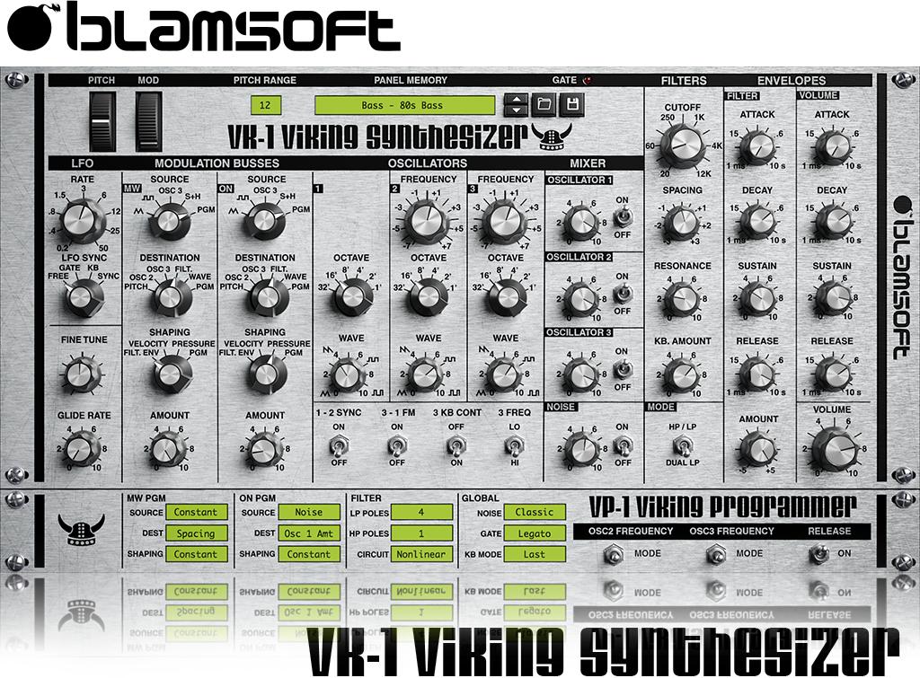 VK-1 Viking Synthesizer VST Plugin kostenlos