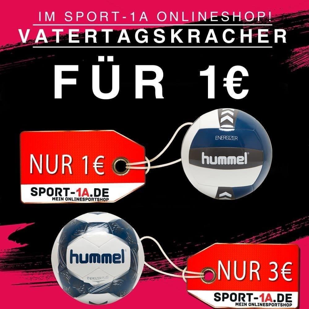 Hummel Volley- und Fußball zsm. inkl. Porto für 9,99€