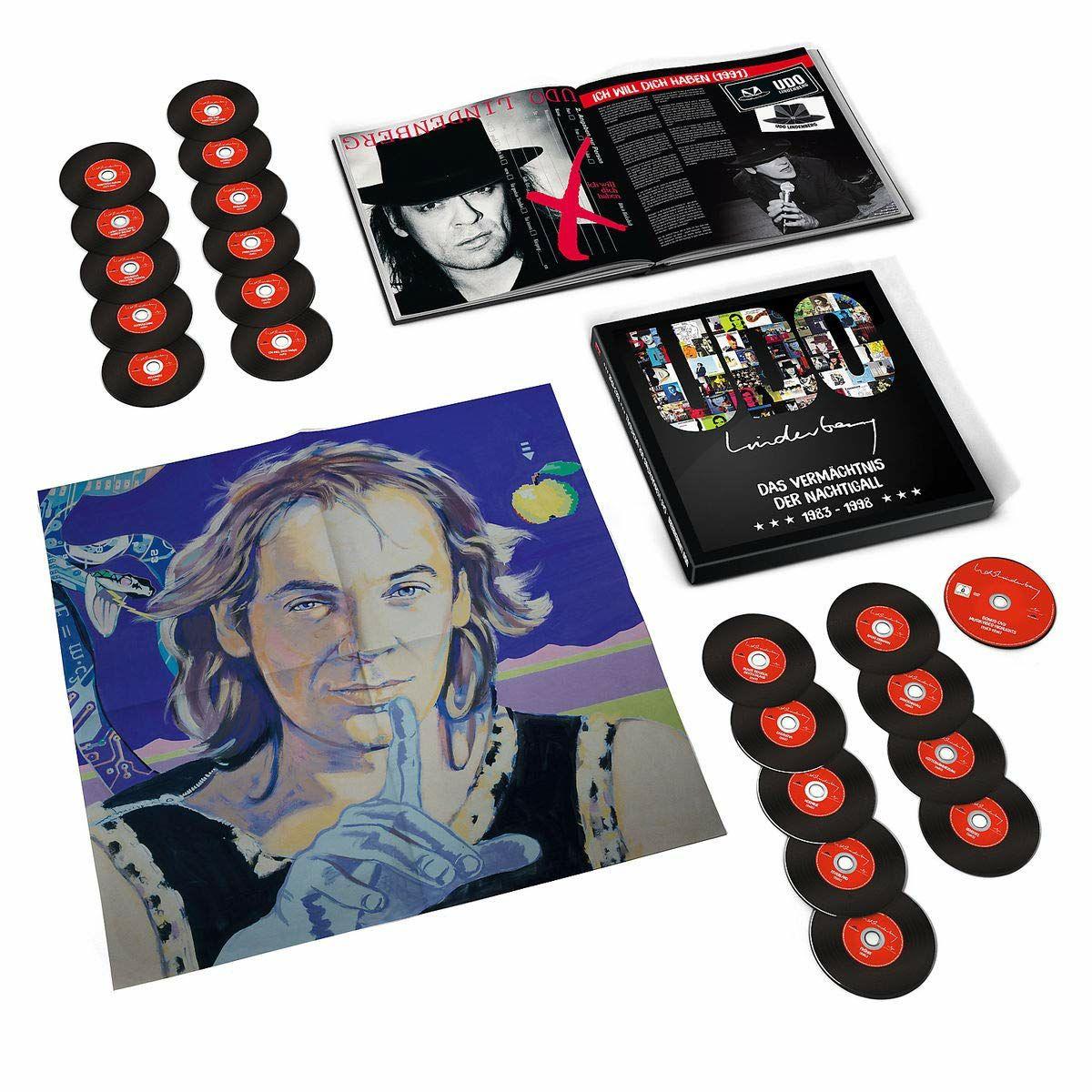 Udo Lindenberg Das Vermächtnis der Nachtigall 1983-1998 CD Box