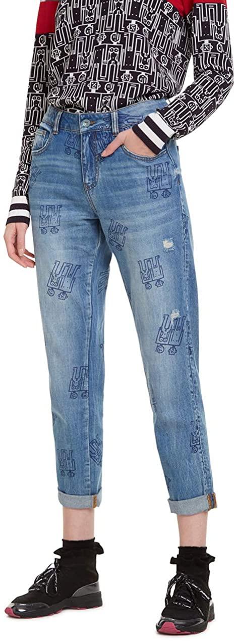 Desigual Damen Boyfriend Jeans, Größe 27, VSK frei für Primemitglieder