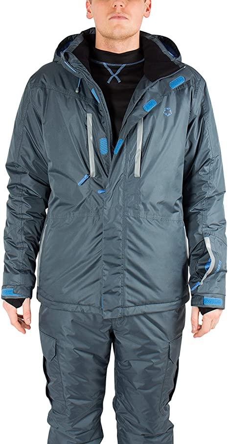Gregster Herren Skijacke in Größe L, Farbe grau, für Primemitglieder ohne VSK