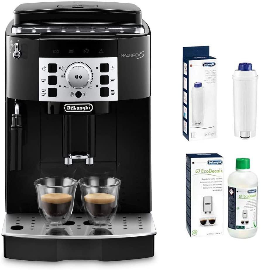 De'Longhi Magnifica S ECAM Kaffeevollautomat + Wasserfilter + Entkalker