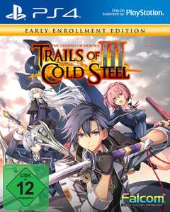 The Legend of Heroes: Trails of Cold Steel 3 - Early Enrollment Edition (PS4) für 29€ inkl. Versand