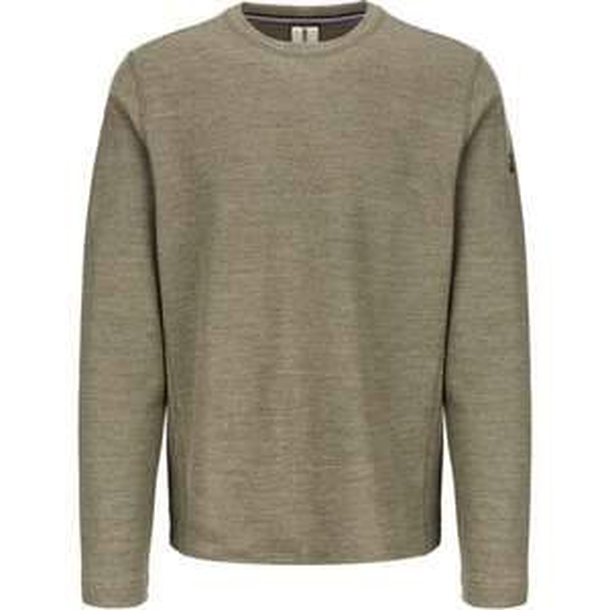 (Outdoor Broker) Super.Natural Knit Merino-Mix Pullover bamboo 3d