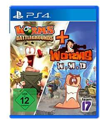 Worms Battlegrounds + W.M.D Double Pack (PS4) für 17,99€ (Amazon Prime & Müller Abholung)