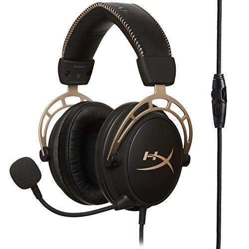 Kingston HyperX Cloud Alpha - Gaming Headset schwarz/gold (HX-HSCA-GD/NAP)