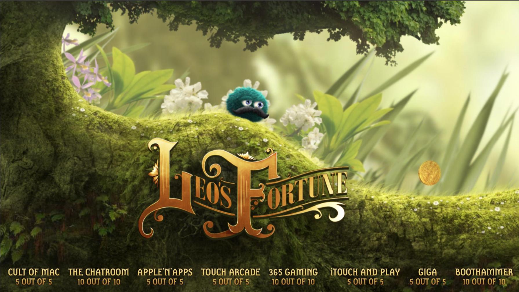 Leo's Fortune - Jump'n'Run Adventure für 1,09€ im App Store (iOS)