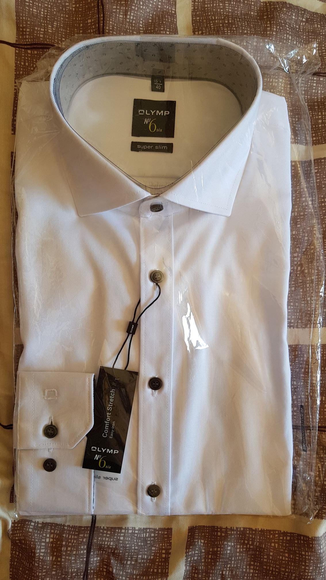 Galeria Karstadt / Kaufhof: Hemden stark reduziert, z.B. OLYMP No. 6 ab 19,99€ (Lokal Köln)