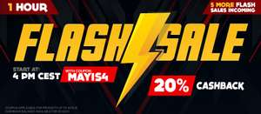 Gamivo Flashsale am 21.05.2020 z.B.10%, 15% oder 20% Rabatt & Cashback
