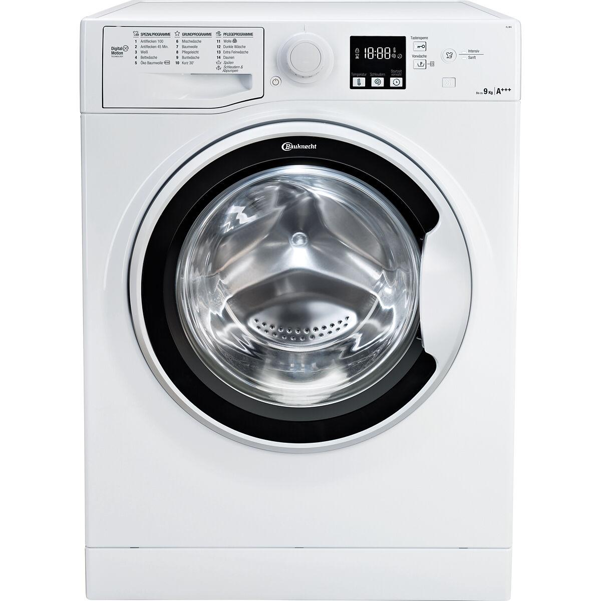 Bauknecht FL 9F4 Waschmaschine, A+++ 9kg mit Newslettergutschein nur 284€