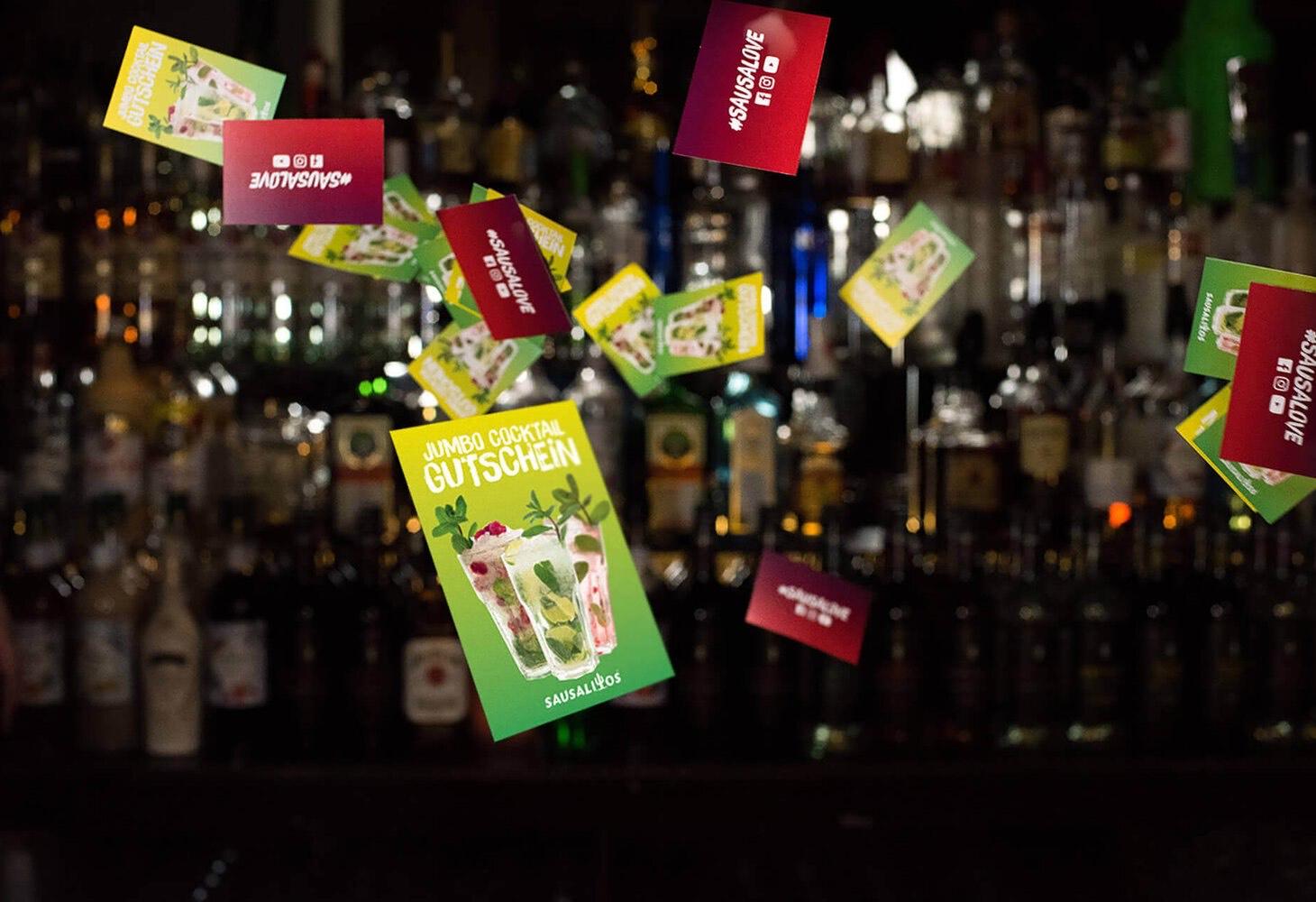 [Sausalitos] 12 x Jumbo Cocktail Gutscheine für 65€