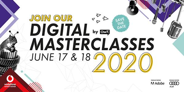 Kostenfreie online Tickets für die OMR Digital Masterclasses