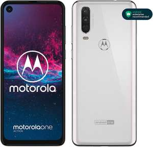 Motorola One Action Dual-SIM Smartphone (6,3-Zoll-FHD+-Display,128 GB/4 GB [Amazon Marketplace]
