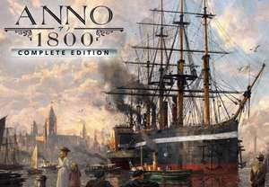 [Epic Store Brasilien] Anno 1800 Complete Edition inkl. Season Pass 1&2 für 22,91€ PC