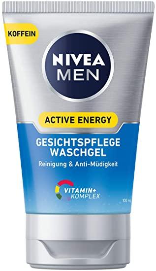 2x NIVEA MEN Active Energy Waschgel je 100ml [Amazon Prime]
