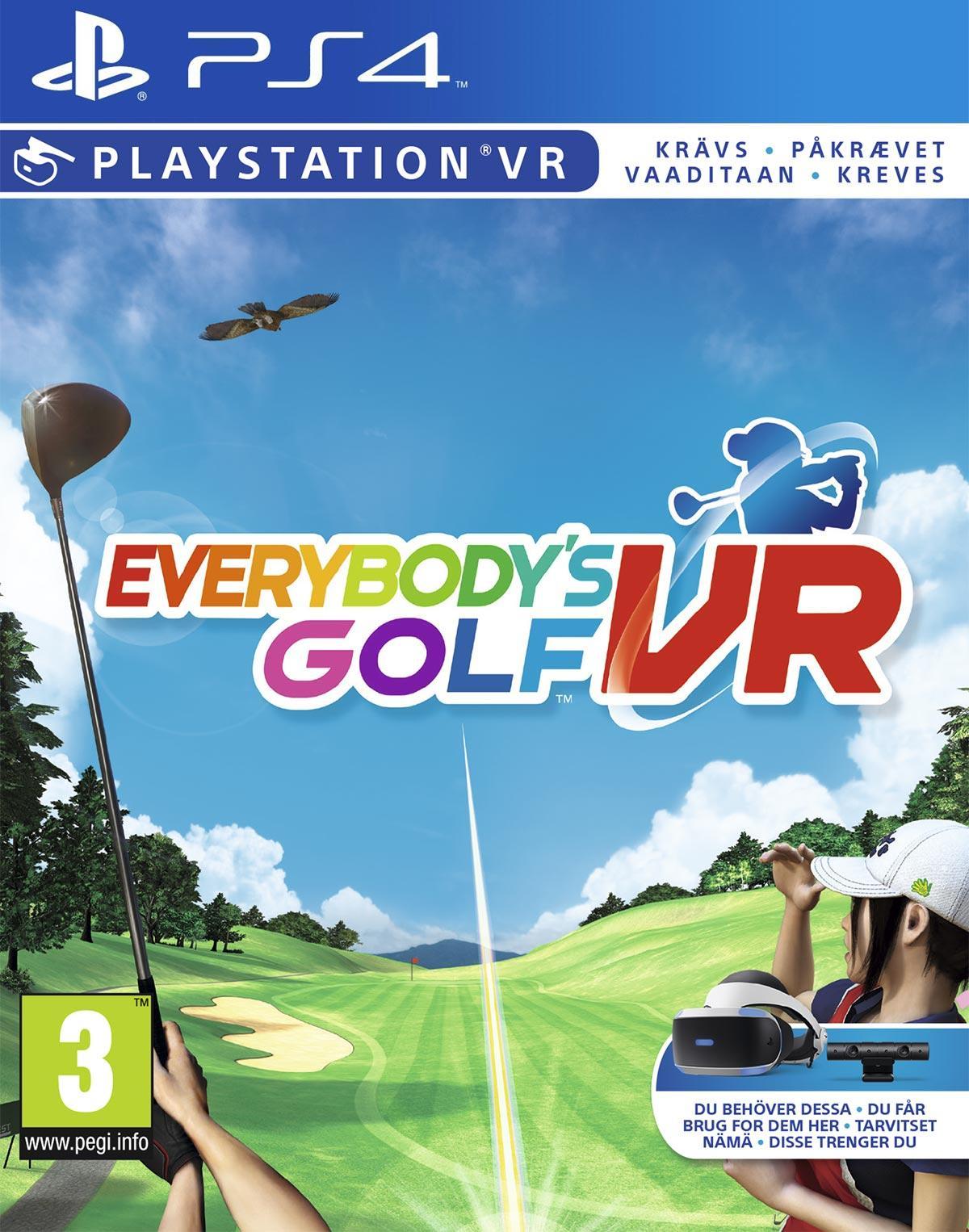 Everybody's Golf VR (PS4) für 12,95€ (Coolshop)