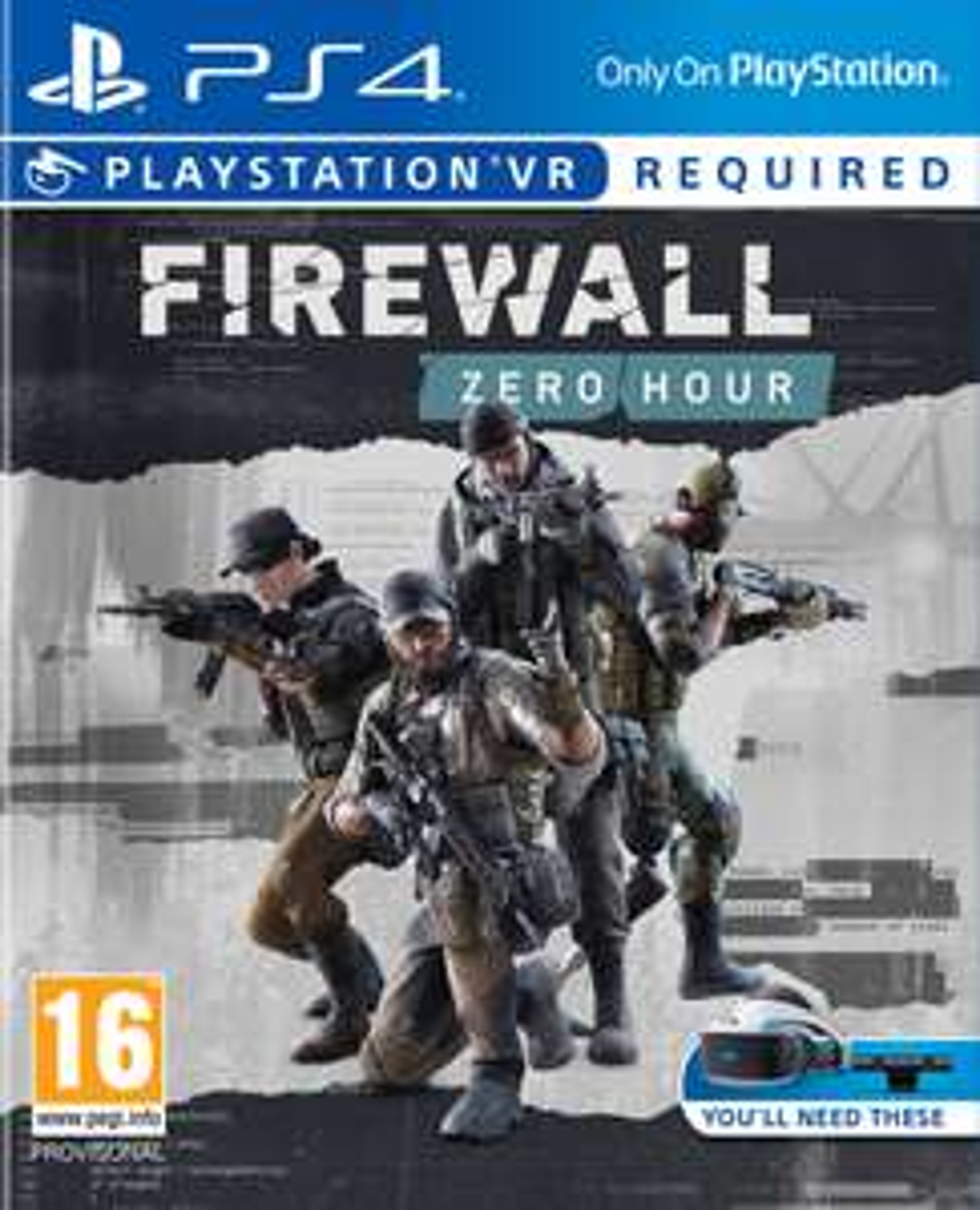 Firewall: Zero Hour (PS4-VR) für 14,95€ (Coolshop)