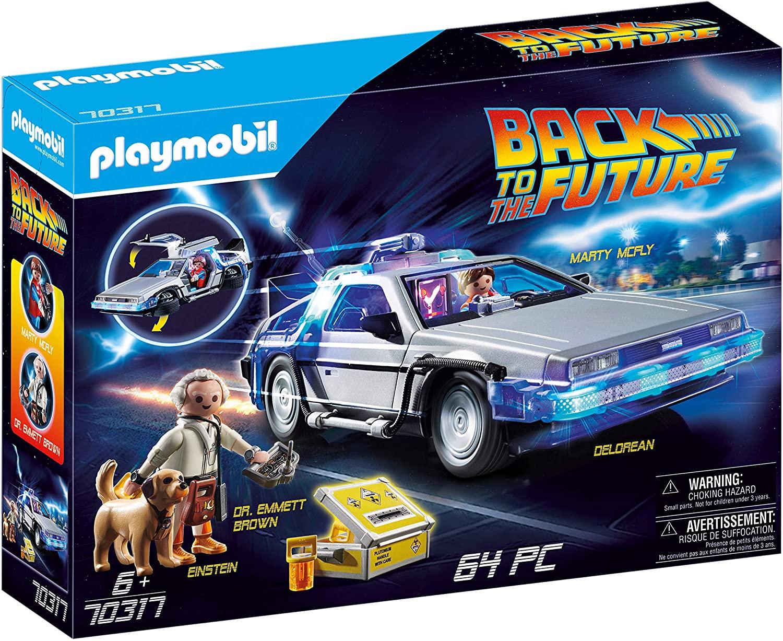 Playmobil Back to the Future DeLorean (70317) für 39,94€ (Amazon)
