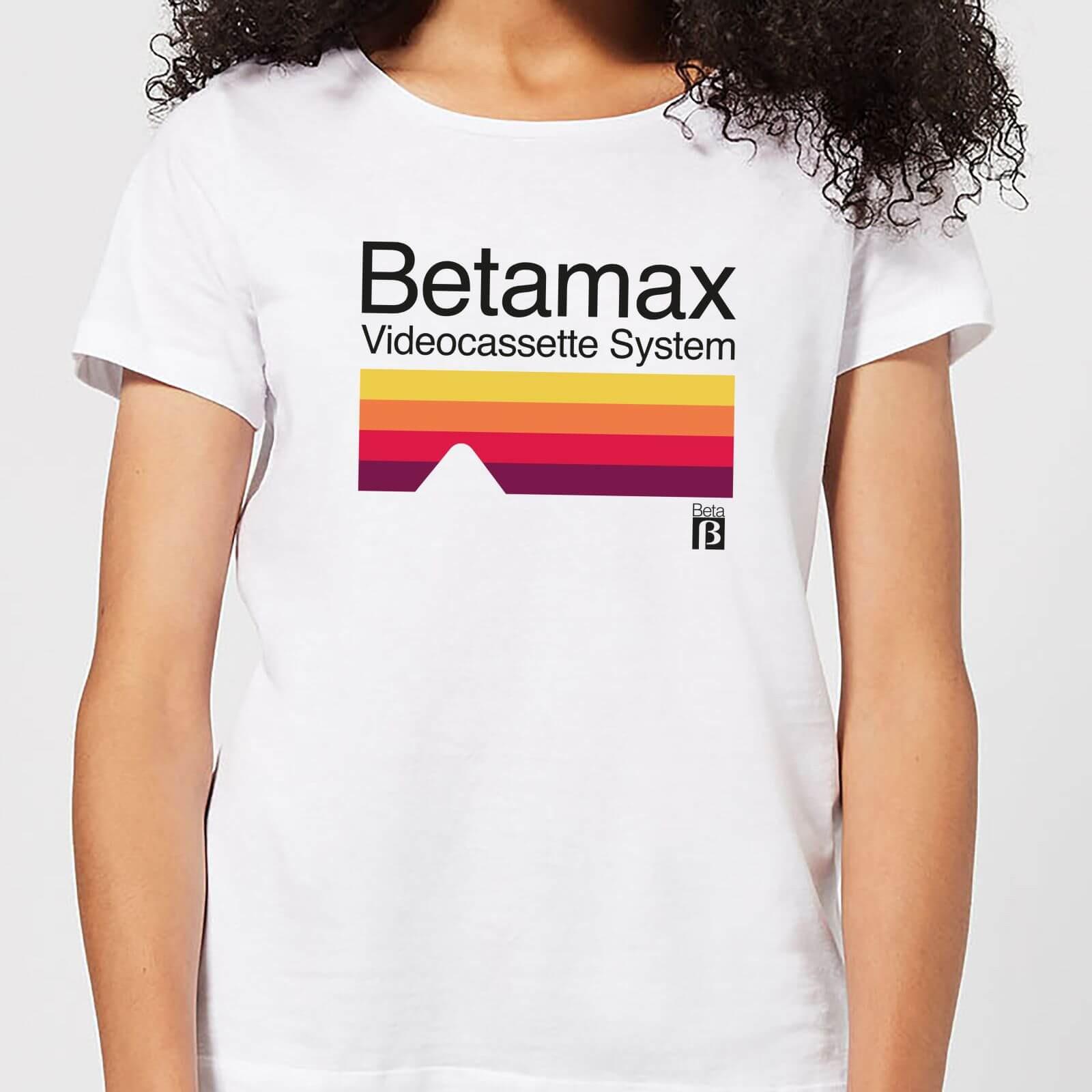 Verschiedene Betamax T-Shirts (Gr. S - XXL) für Damen und Herren für 10,99€